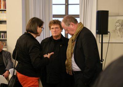 Gertrud und Peer Steinbrück im Gespräch mit Wolfgang Welsch.